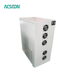 AF10 10kva 8kw Stabilizer Single Phase Voltage Otomatis Cerdas Tabung Digital Regulator