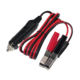 Auto 10A Fuse Cigarette Car Lighter Alligator Clips Clamps Red And Black Adapter Splitter Socket Battery Power Charging Cable