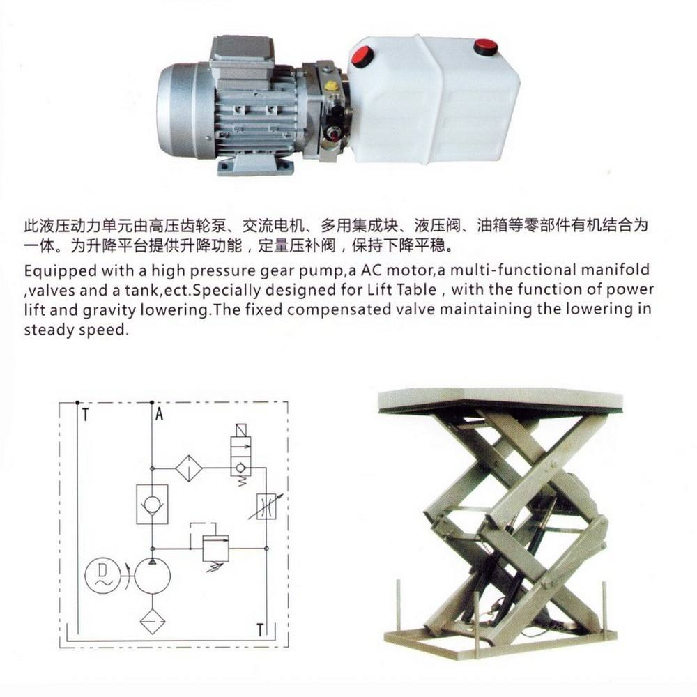 dc industry use manufacture used hydraulic power pack top sale