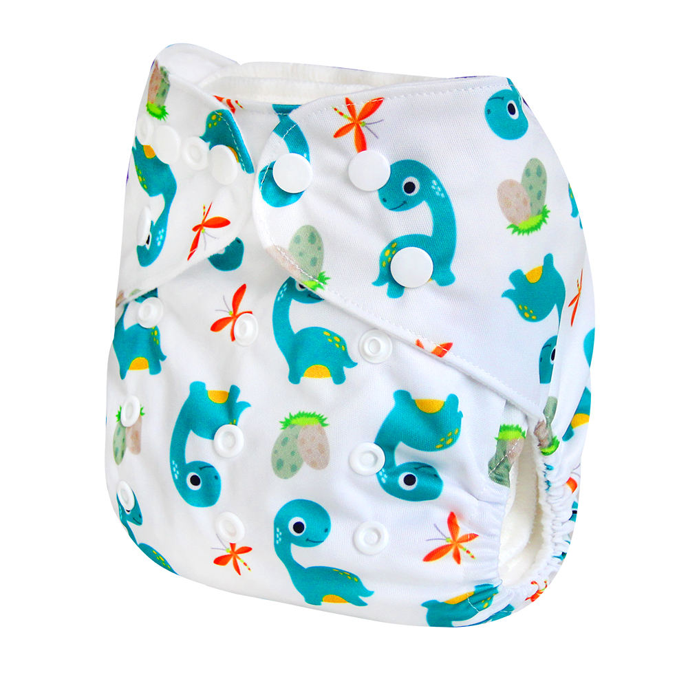 2020 wholesale pul fabric pocket cloth diaper cover with insert aio reusable washable baby cloth diapers for sale