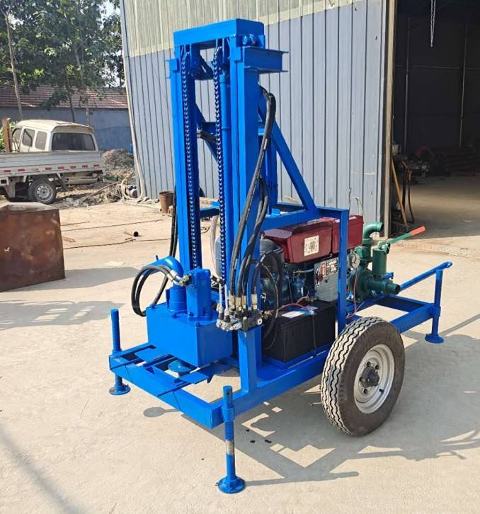 Small Water Well Drilling Rig 200m Borehole Drilling Machine Price