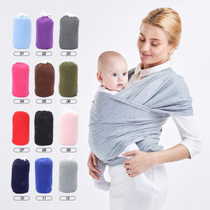 12 Colors Quality Ergonomic Newborn Baby Wrap Carrier