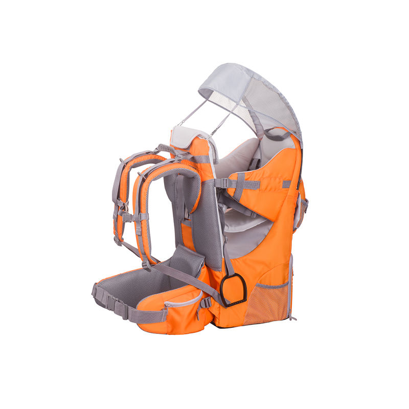 Light weight shoulder carrier baby with aluminium tube, baby hiking carrier with comfortable seat