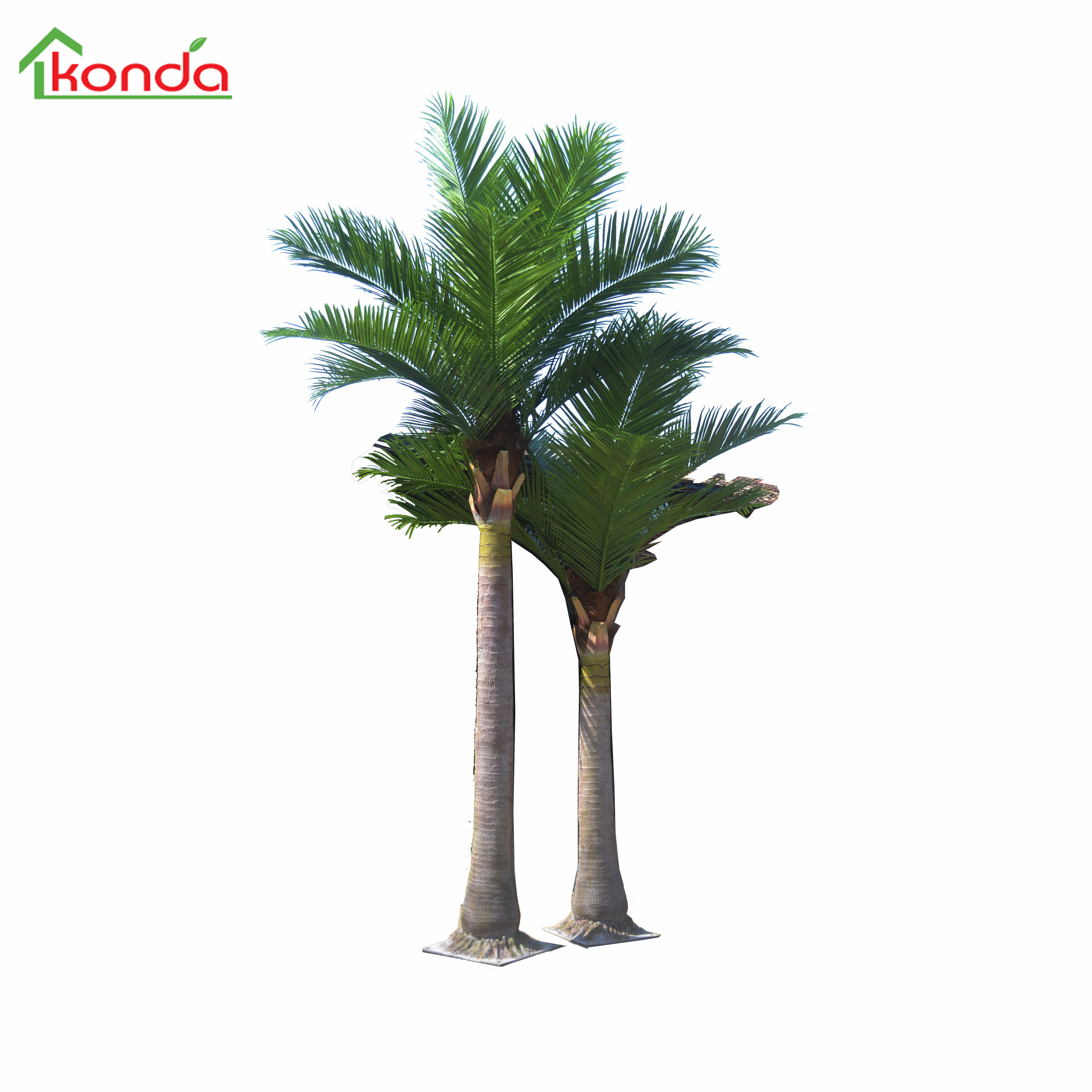 Hot sale fake palm tree 5m/6m faux tree for outdoor decorative tree in China