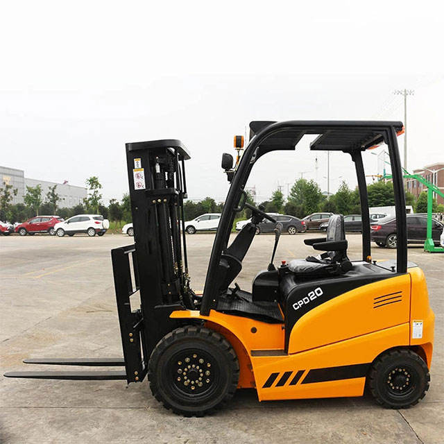 CE electric forklift 12 tons new mini battery forklift 1.5 tons smart electric forklift
