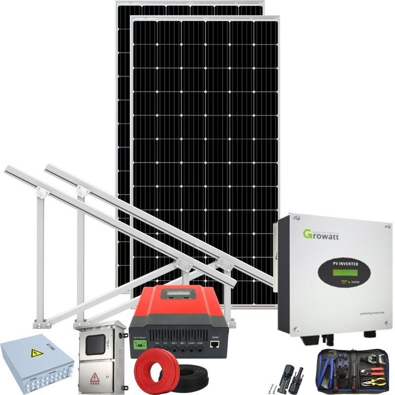 solar power grid connected system 4 kw 5kw 250 kw home on grid solar generator grid synchroniser