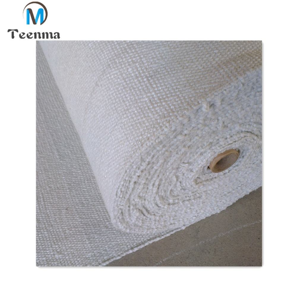 1260 C Refractory Fireproof Ceramic Fiber Cloth Aluminum Silicate Cloth