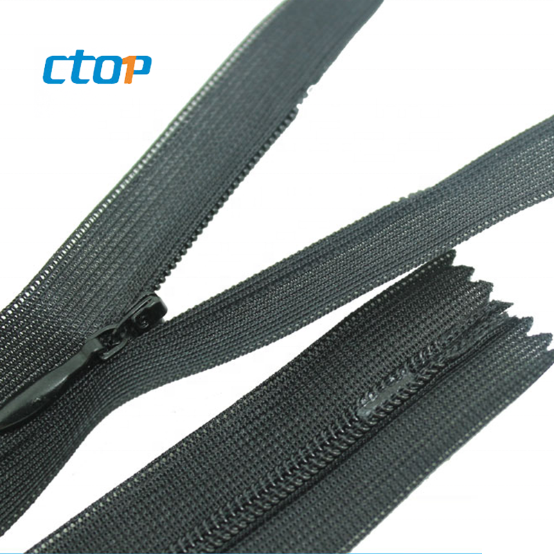 Good quality much color zinc alloy for garments nylon zipper zippers for bag cheap zippers
