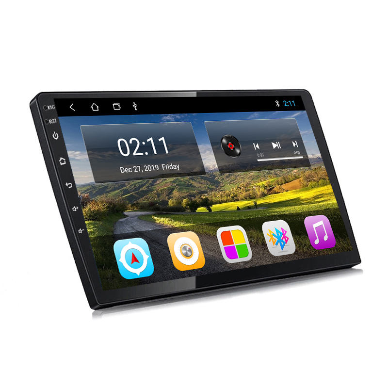 Wanqi 9/10 zoll Android 9/10 4 kerne 1 + 16/2 + 32 auto dvd-multimedia-player radio video Stereo navi system für universal Kopf einheit