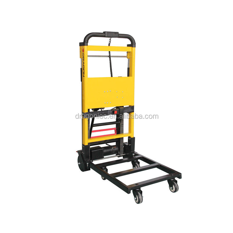 DW-11A Easy operate electric stairs climber hand pallet truck stair climbing trolley