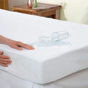 Breathable Soft Cotton Bed Cover Waterproof Mattress Protector for Hotel Home Hospital