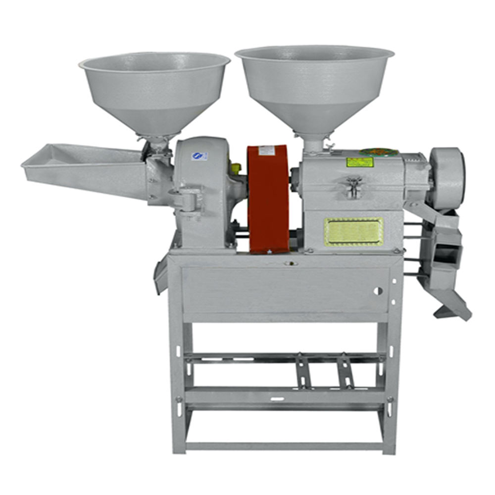 sale Rice milling and grain grinding 2 in 1 Home Flour Milling Machine Small Portable Combine Rice Mill machine