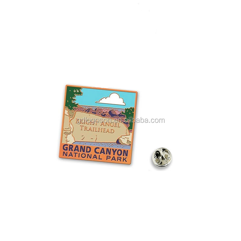 USA Pin Helle Engel Trail Wandern Souvenirs Pin Abzeichen Arizona Grand Canyon Nationalen <span class=keywords><strong>Park</strong></span> Metall Revers Pin