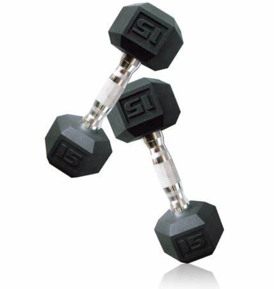 Dumbells Weights Dumbbells Set with Metal Handles Heavy Dumbbell Set for Muscle Training