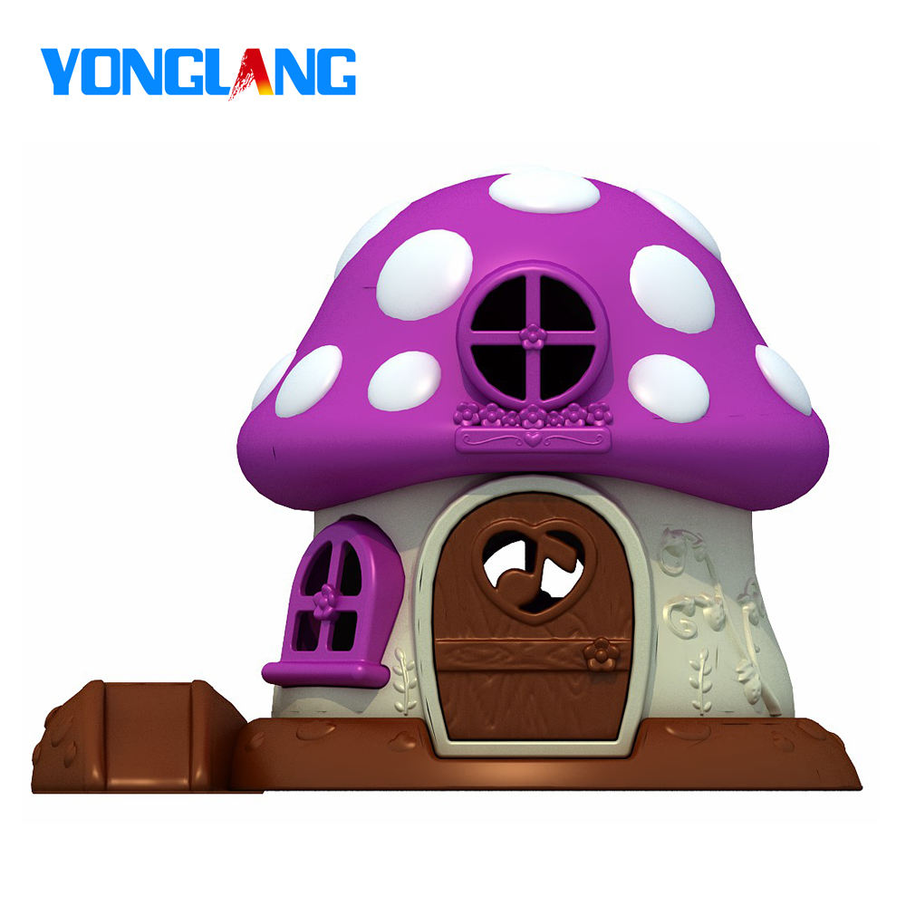 YL-2B12123 Mushroom Playhouse Playhouses New Commercial Children Plastic Playhouse
