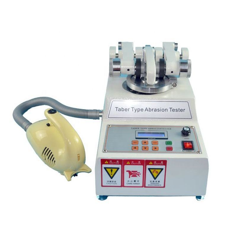 Taber Abrasion and Wear Test Machine for Leather