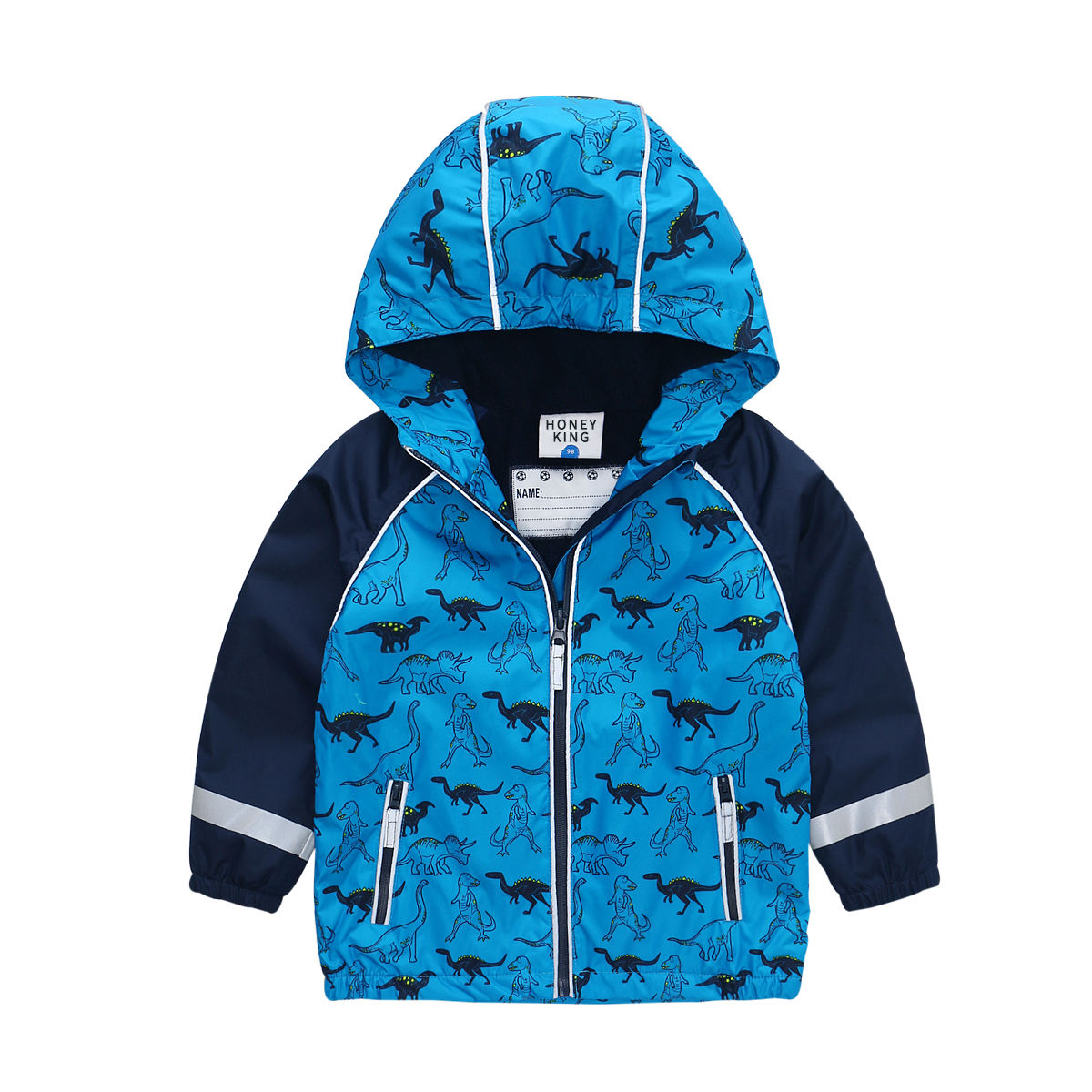 OEM Customization Kids Boys and girls woven rain jacket boys clothing custom rain jacket
