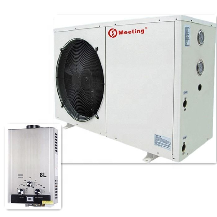 Meeting MD30D Air to Water Heating System Work With Domestic Wall Hung Gas Boiler Air Source Heat Pump