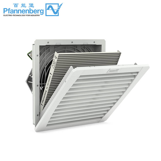 Exhaust Fan Filter Pfannenberg Industrial Filterfan Electric Cabinet Cooling Fan Filterfan | Exhaust Filter 223-265 M3 /h PFB 43000