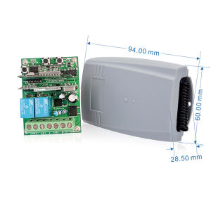 2.4-2.5G Receiver Internet Radio Receiver 315 M Hz Remote Control