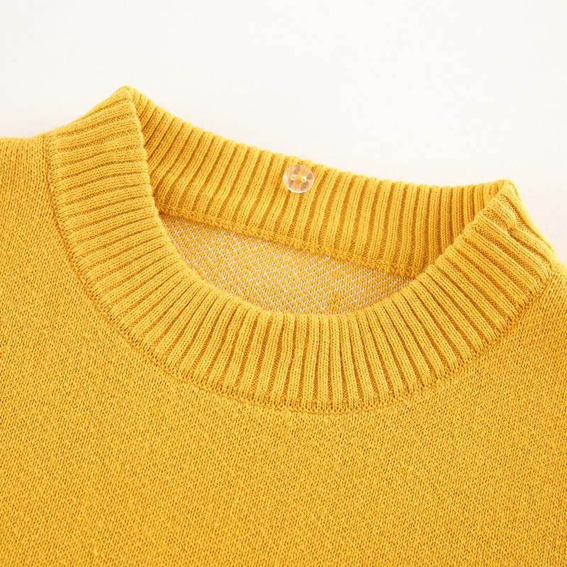 Children Sweater 2020 Wheat Spike Pattern Children's Pullover Sweater For Boys Computer Knitting Soft Knitwear