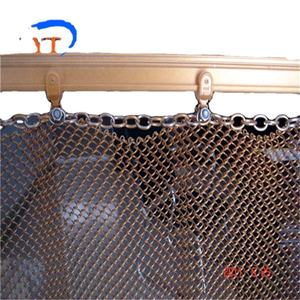 Metal Mesh Curtain Drapery for Hotel Decoration
