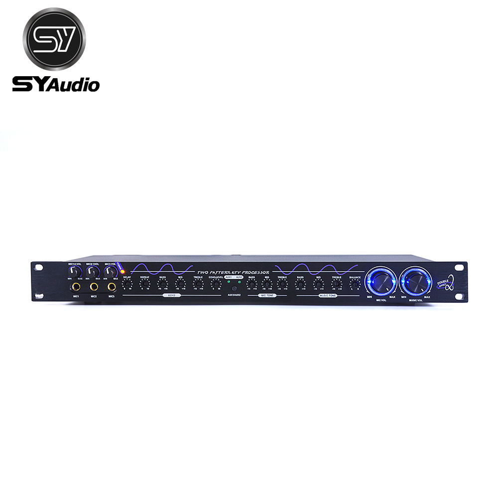 New style Mixer Audio Sound KTV room adjustment audio processor with bluetooth