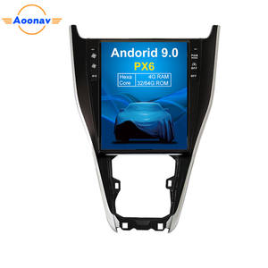 AOONAV Android 9.0 Car Radio Multimedia Player GPS Navigation For TOYOTA Harrier 2013-2018