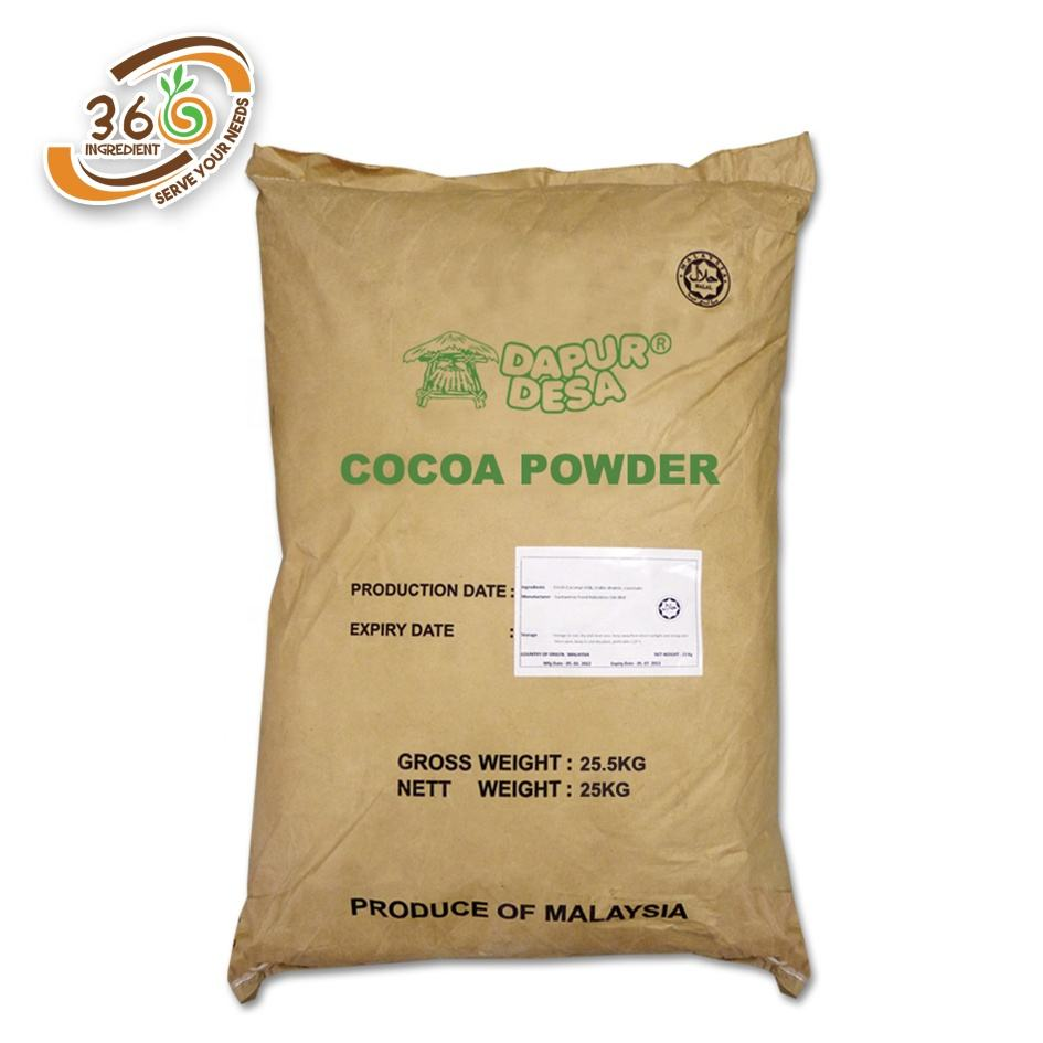 25kg Dapur Desa High Quality Pure Cocoa Powder Natural Cocoa Powder