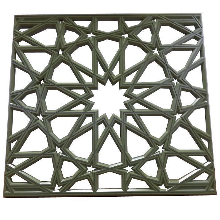 Custom-made products of Aluminum Laser Cut Carved Panels for Decorative Screens or facade/fences metal plate