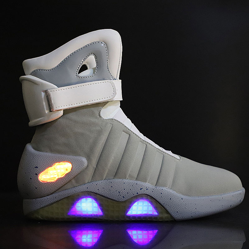 2020 Back to the future led scarpe per gli <span class=keywords><strong>uomini</strong></span>