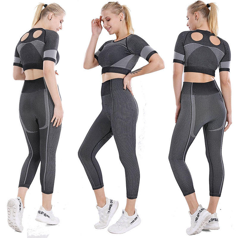 Fitness OEM Active Wear Yoga Pants And Bra Wholesale Women Yoga Set