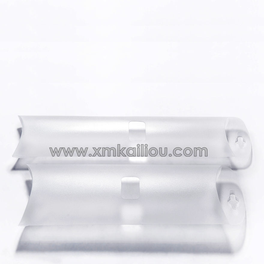 Clear Custom PVC Pillow Plastic Packaging Gift Box
