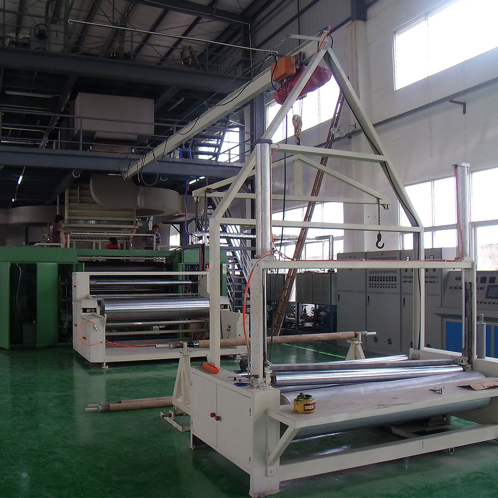 SMS Nonwoven Making Machine Automatic Nonwoven Machines Nonwoven Roll Cutting Machine
