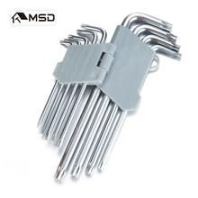 9PCS EXTRA-LONG ARM HEX KEY SET