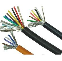 copper conductor 2 core 18 AWG shield cable with drain wire