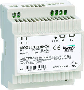 DIN Rail Type DR-60W-24 60W 24V 2.5A DIN Rail Power Supply untuk Otomatisasi Industri