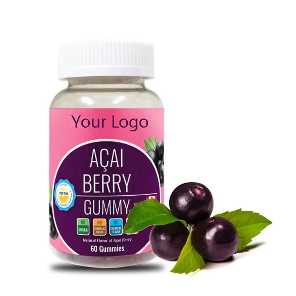 Heart Health Dietary Supplement Provide From Acai berry Vegan Gummy