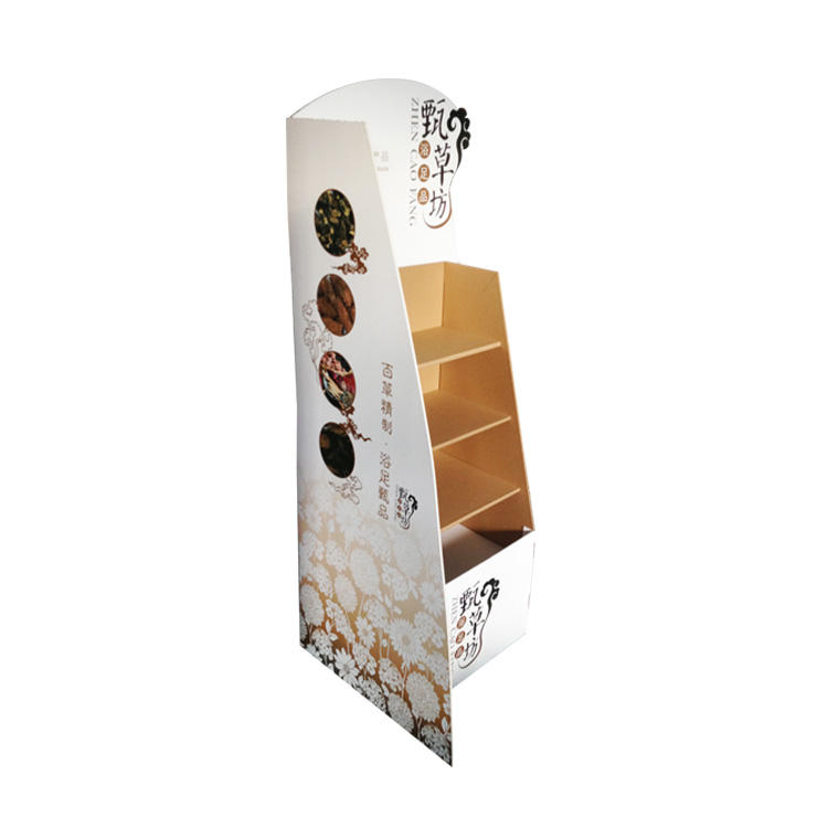 Hot selling product free standing cardboard displays customized stand display custom At Wholesale Price