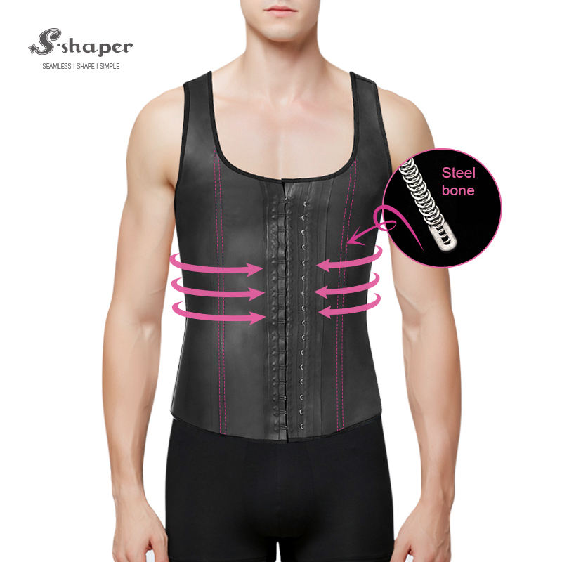 Groothandel Latex Taille Training Vest, Faja Latex Mannen Vest Taille Trainer
