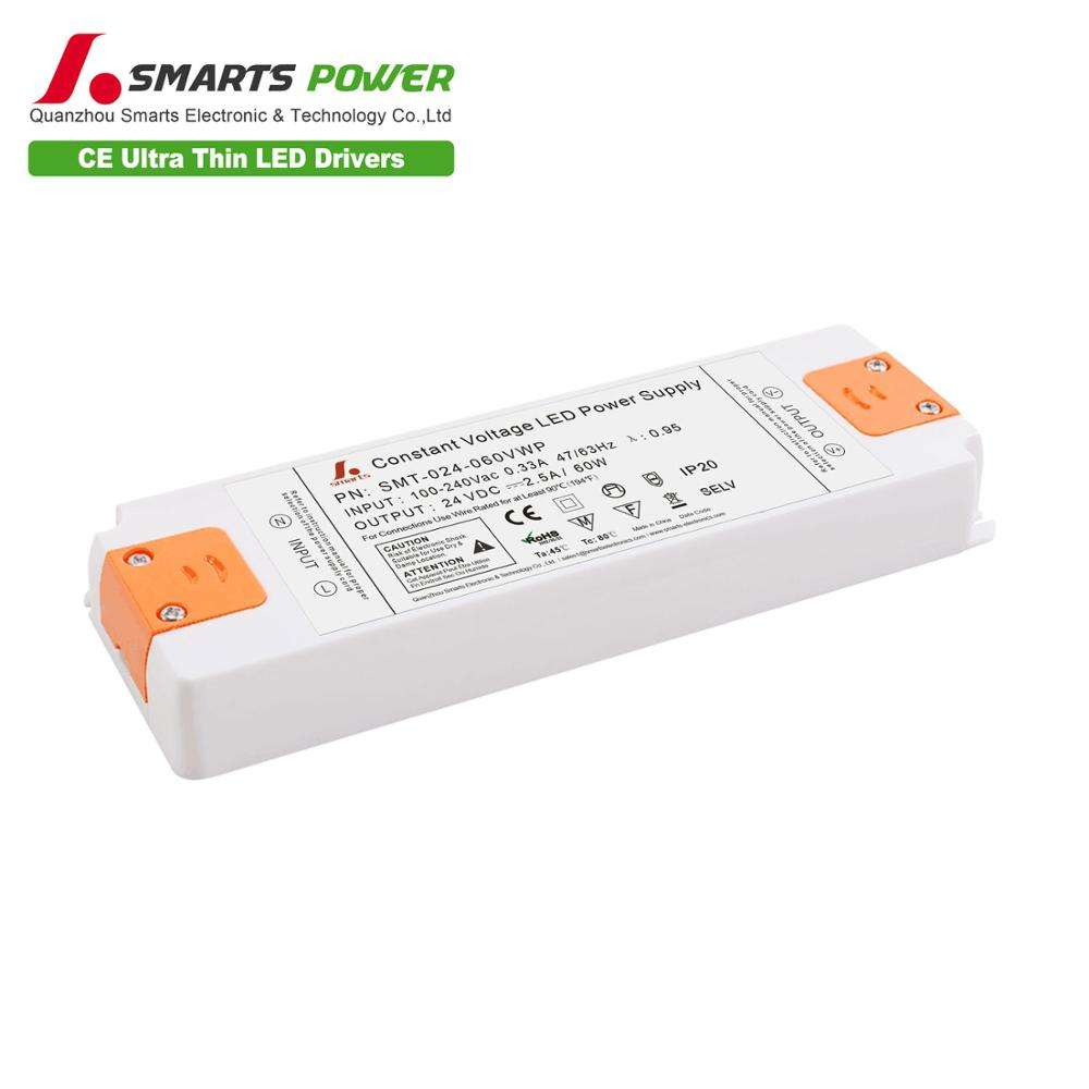 CE ROHS listed 60W 36W 24V Small Lled Transformer