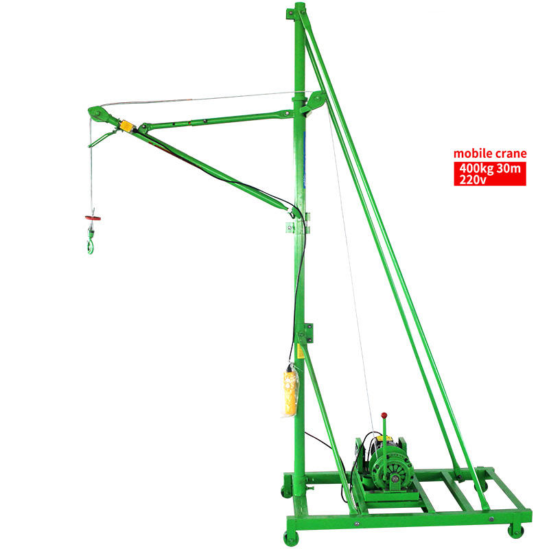 Lifting Height Strong Lifting Capacity Indoor Mini Crane 400KG-30M-220V new hoist