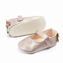 wholesale beautiful princess bow design baby shoes girl