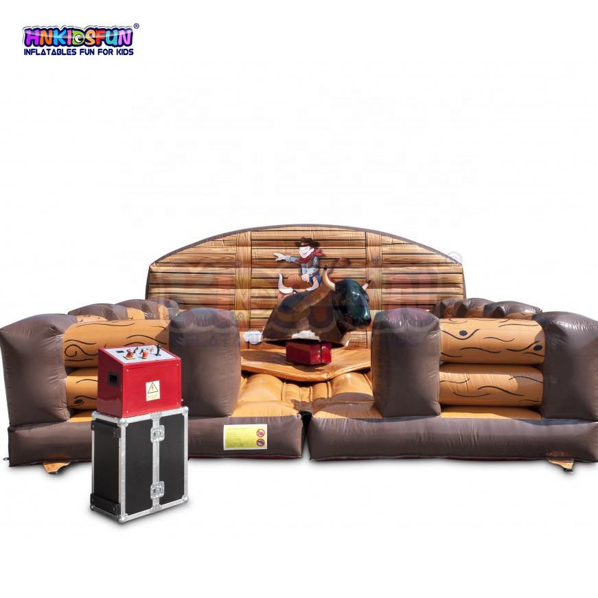 Rodeo arena large inflatable sport game on sale inflatable wipeout eliminator