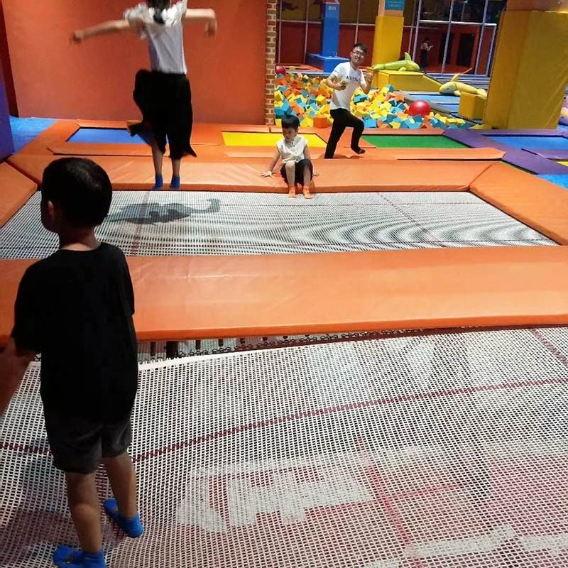 Professional Trampoline Jumping Bed Custom Professional Gymnastic Trampoline Bed Jumping Fabric