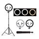 China Cosmetic Factory LED selfie ring light 100W Dimmable 3200K-5800K studio lighting led makeup mirror light