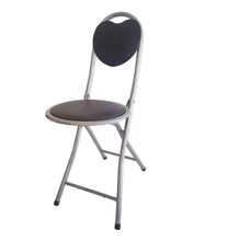 Small cute round seat foldable chair for outings camping gatherings and other events