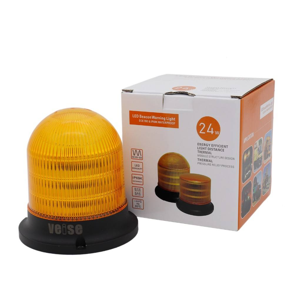Warning Light LED Beacon Light with Waterproof IP69K and ECE R65