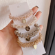 Korean Hair Accessories Korean Style Pearl Beaded Hair Ties Scrunchies Elastic Hairband Ponytail Holders Women Hair Rope Hair Accessories