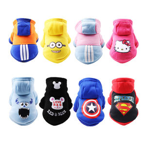 Wholesale Cotton Fleece Pet Hoodies Soft Warm Dog Clothes